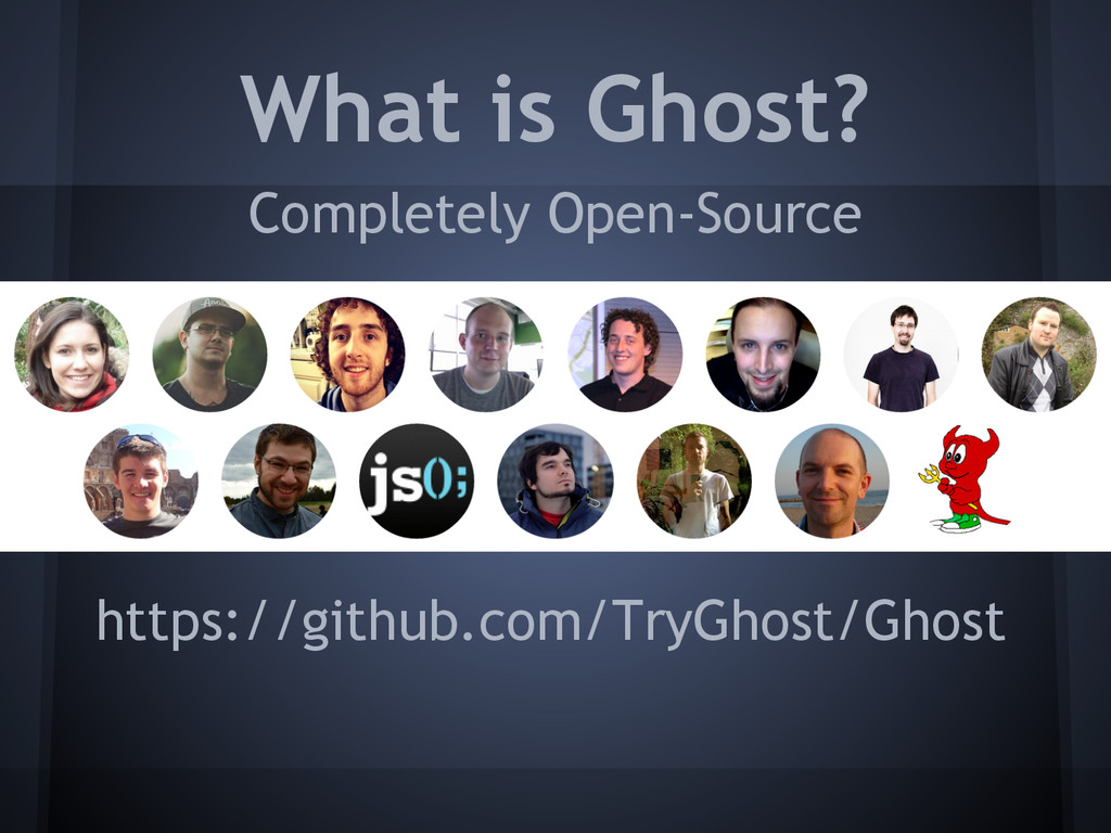 What is Ghost? Completely Open-Source https://g...