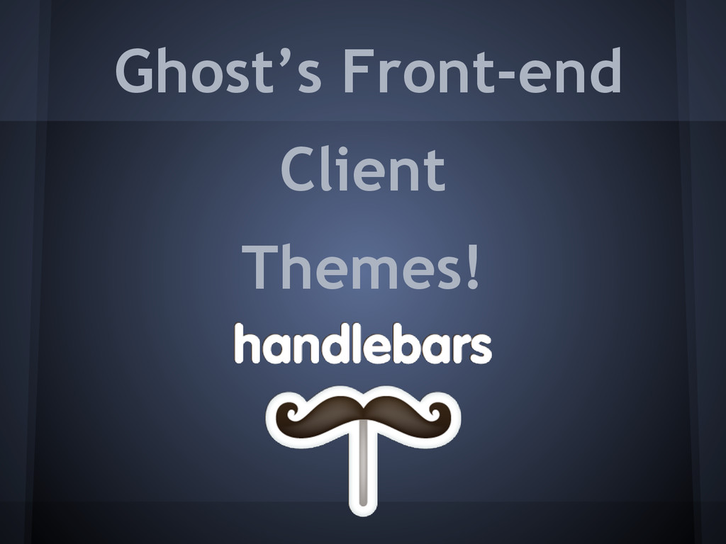Ghost's Front-end Client Themes!