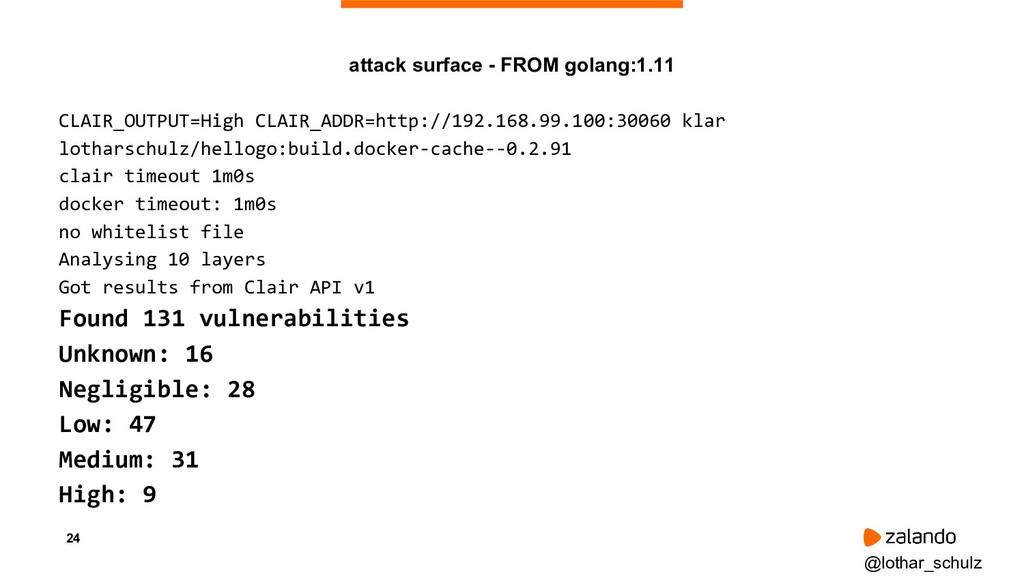 24 CLAIR_OUTPUT=High CLAIR_ADDR=http://192.168....