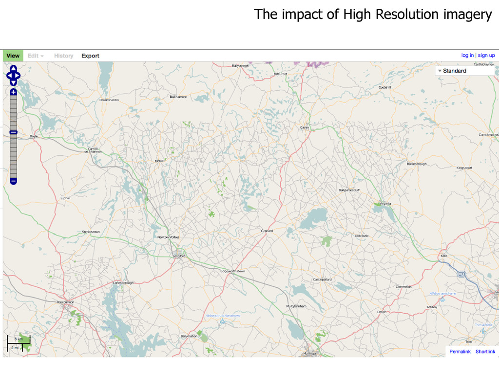 The impact of High Resolution imagery
