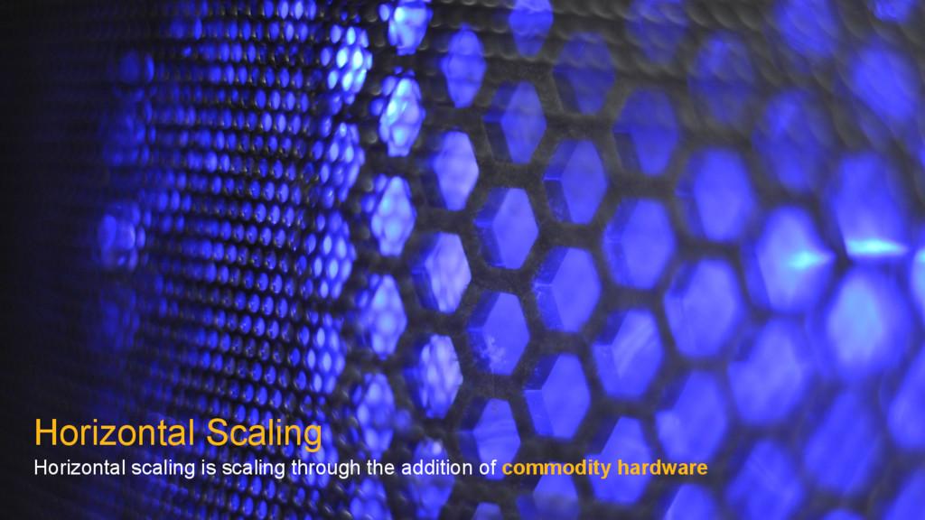 Horizontal Scaling Horizontal scaling is scalin...