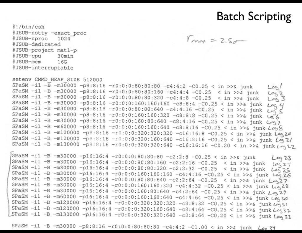 Batch Scripting