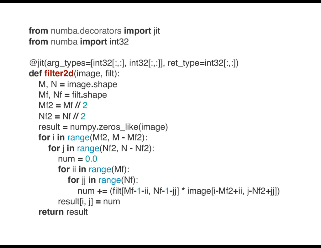 from numba.decorators import jit from numba imp...