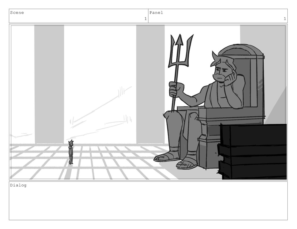 Scene 1 Panel 1 Dialog