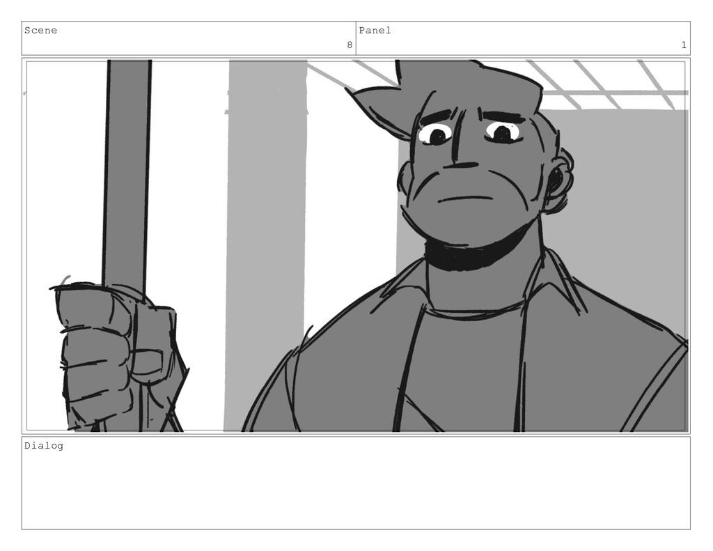Scene 8 Panel 1 Dialog