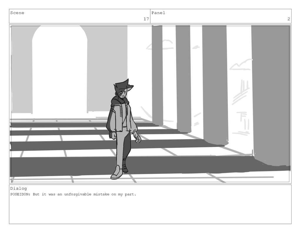 Scene 17 Panel 2 Dialog POSEIDON: But it was an...