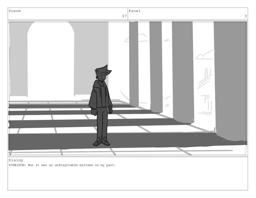 Scene 17 Panel 3 Dialog POSEIDON: But it was an...