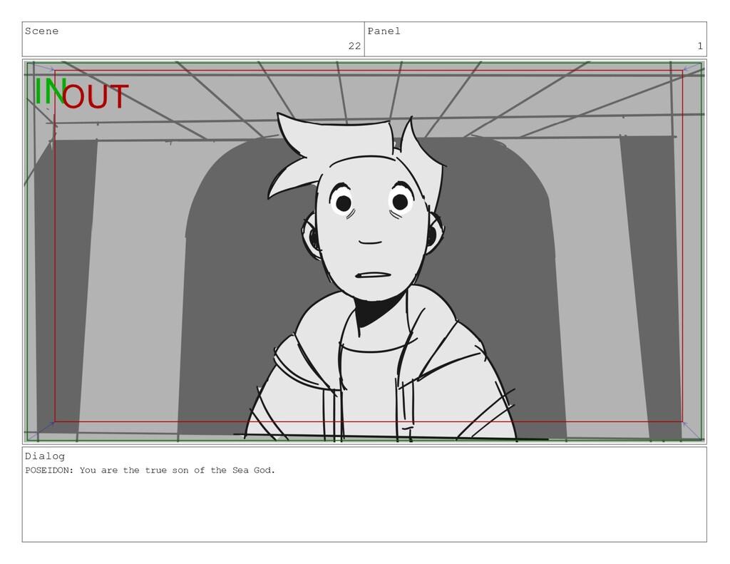 Scene 22 Panel 1 Dialog POSEIDON: You are the t...
