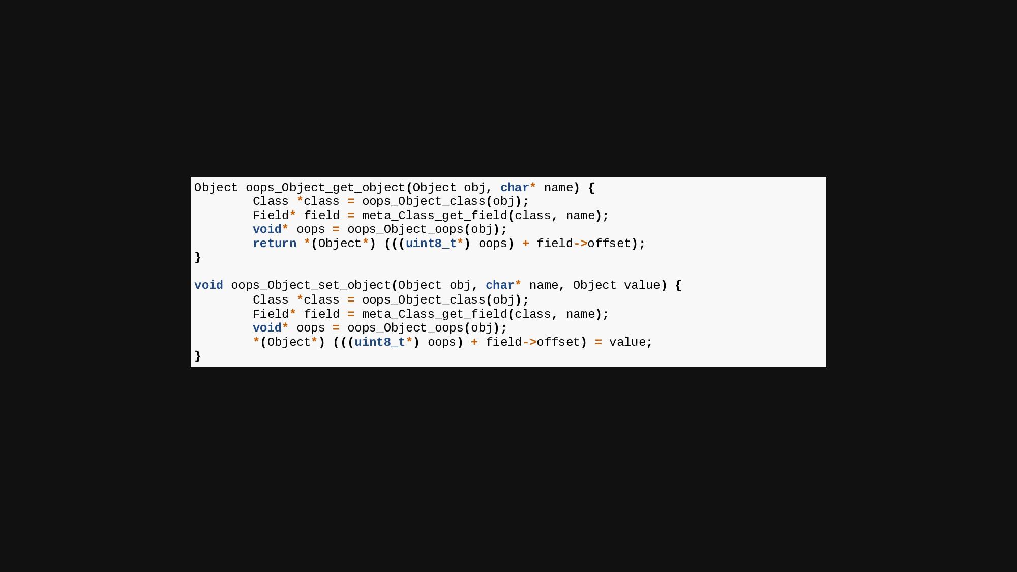 Object oops_Object_get_object(Object obj, char*...