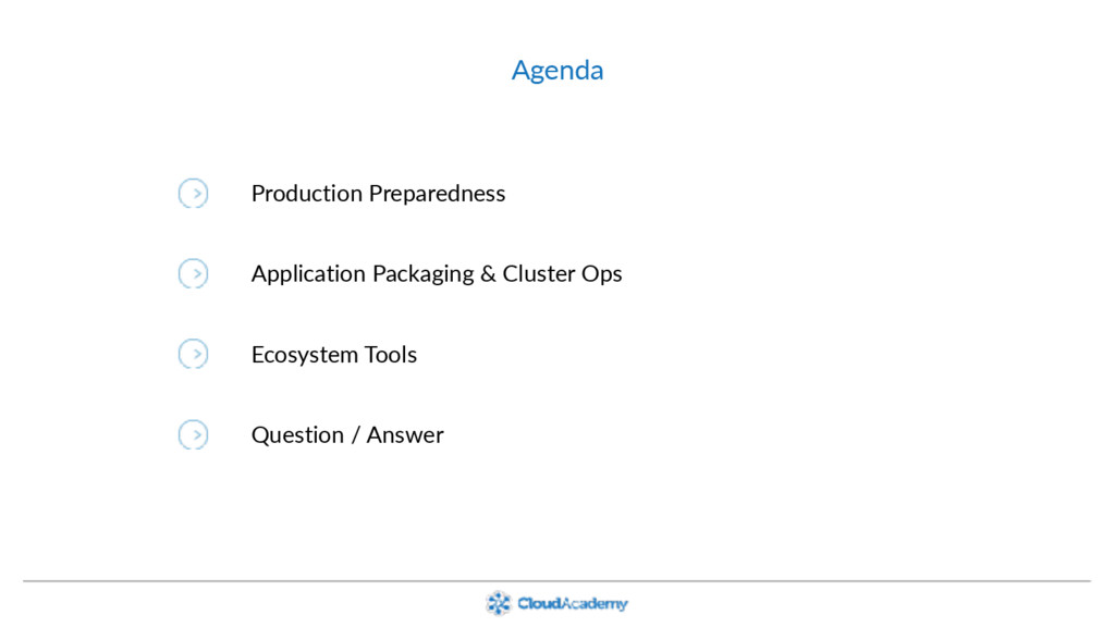 Agenda Production Preparedness Application Pack...