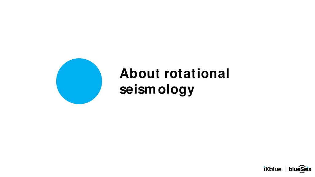 About rotational seismology