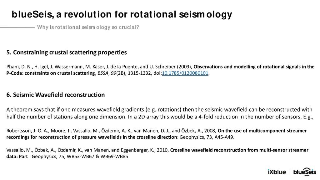 5. Constraining crustal scattering properties P...