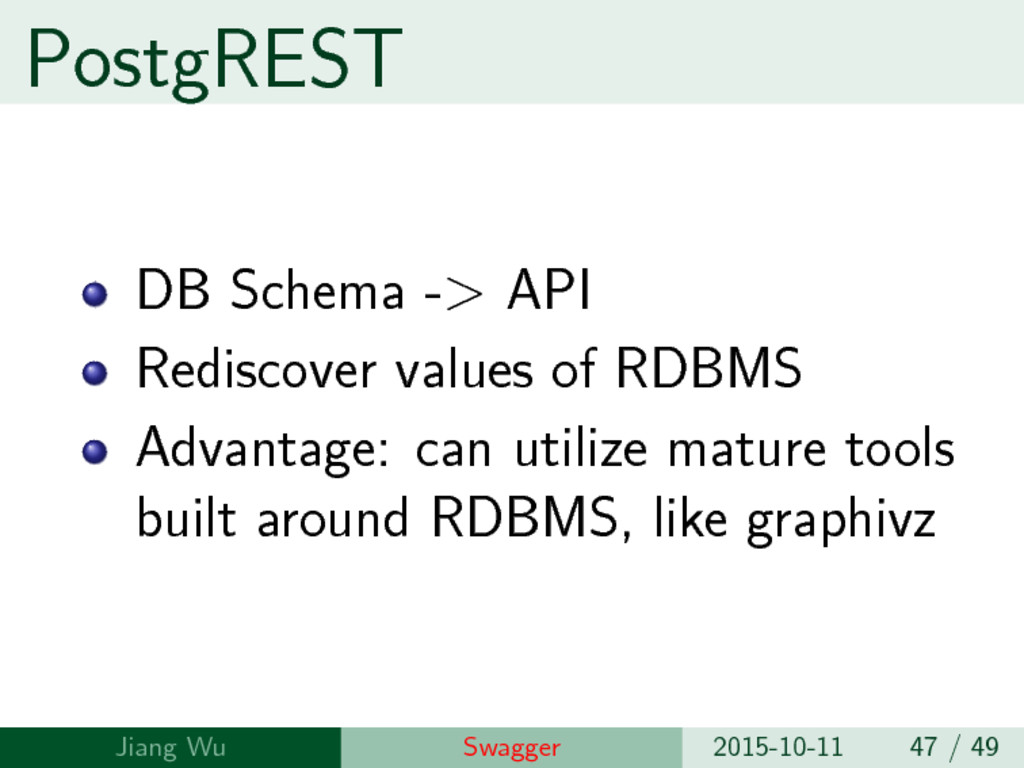 PostgREST DB Schema -> API Rediscover values of...