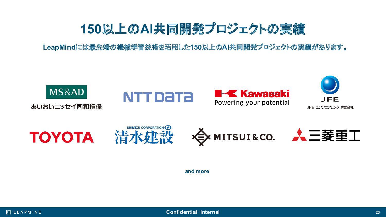 23 Automotive ⾃動運転⽀援技術 電⼒やスペースが限られ、インターネットの 常時接...