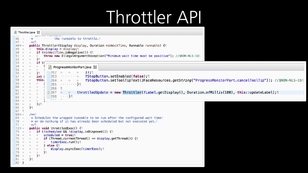 Throttler API