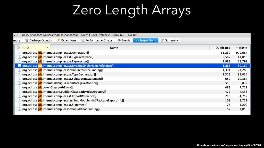 Zero Length Arrays https://bugs.eclipse.org/bug...
