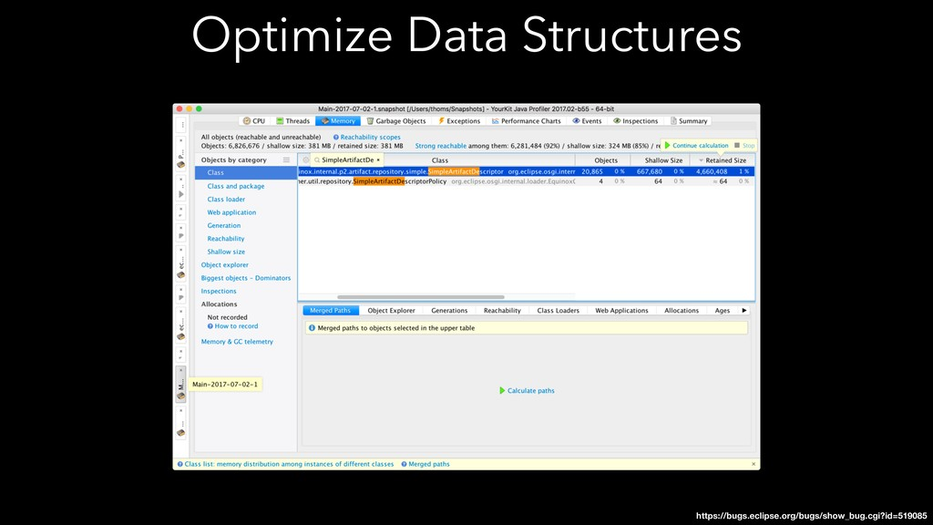Optimize Data Structures https://bugs.eclipse.o...