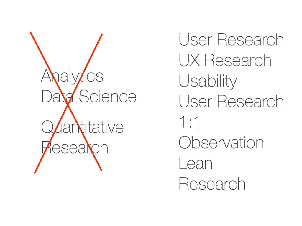 Analytics Data Science Quantitative Research Us...