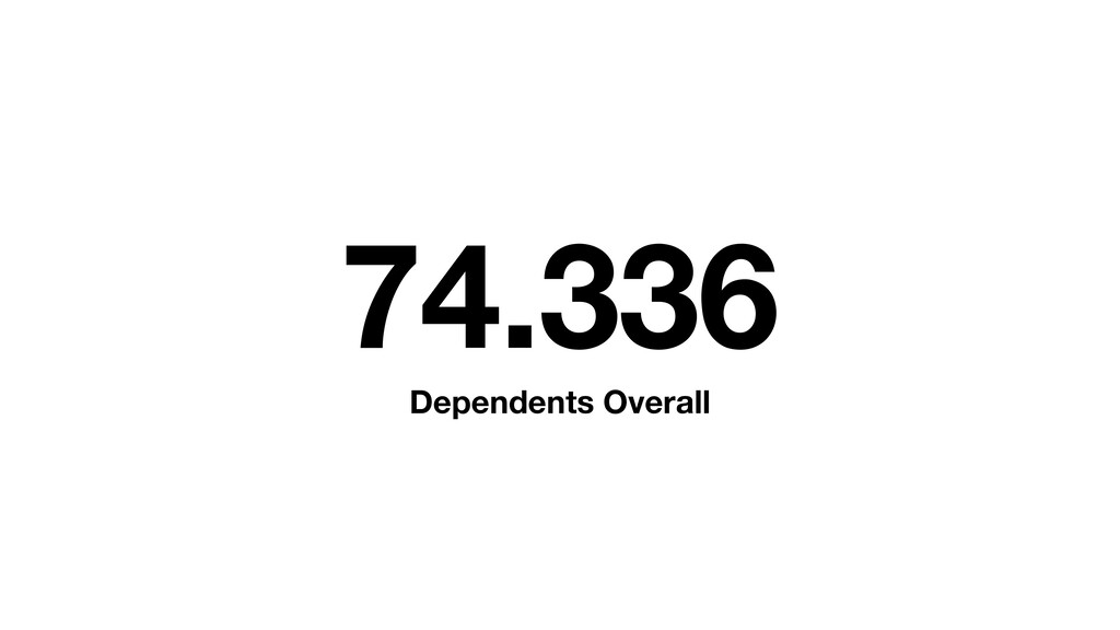 74.336 Dependents Overall