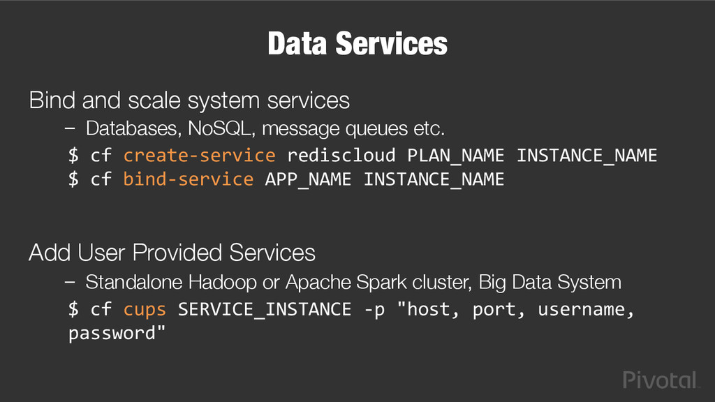 Data Services