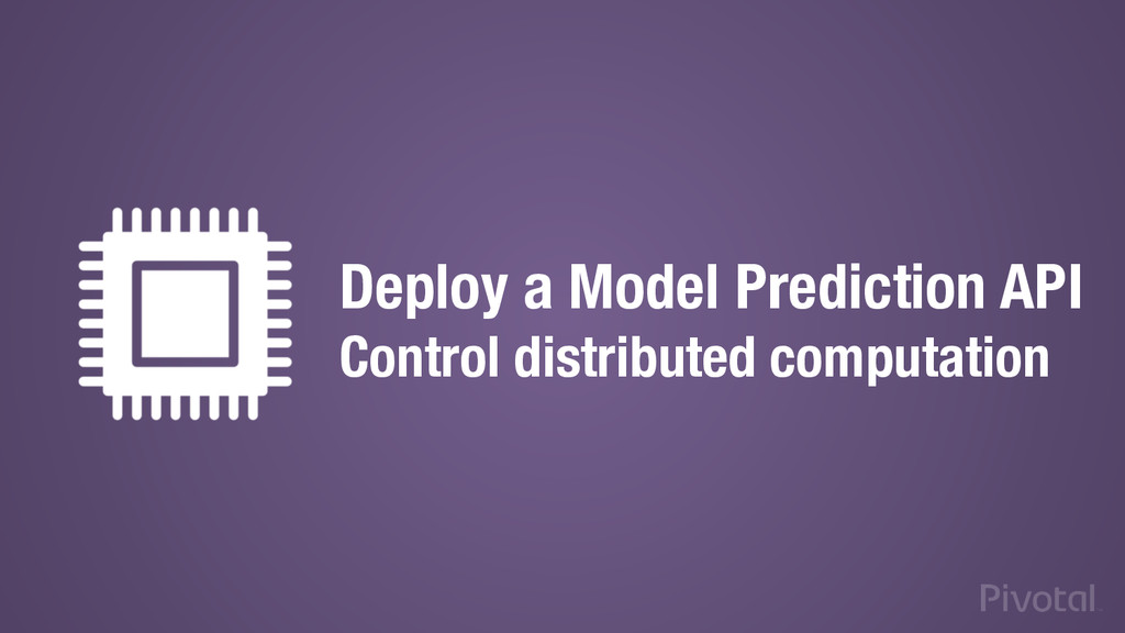 Deploy a Model Prediction API