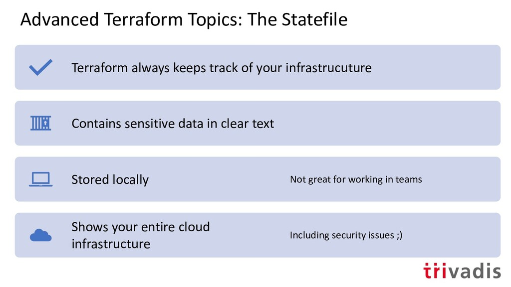 Advanced Terraform Topics: The Statefile Terraf...