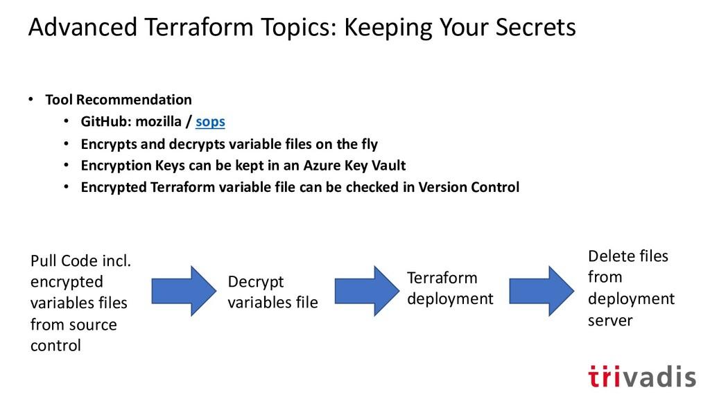 Advanced Terraform Topics: Keeping Your Secrets...