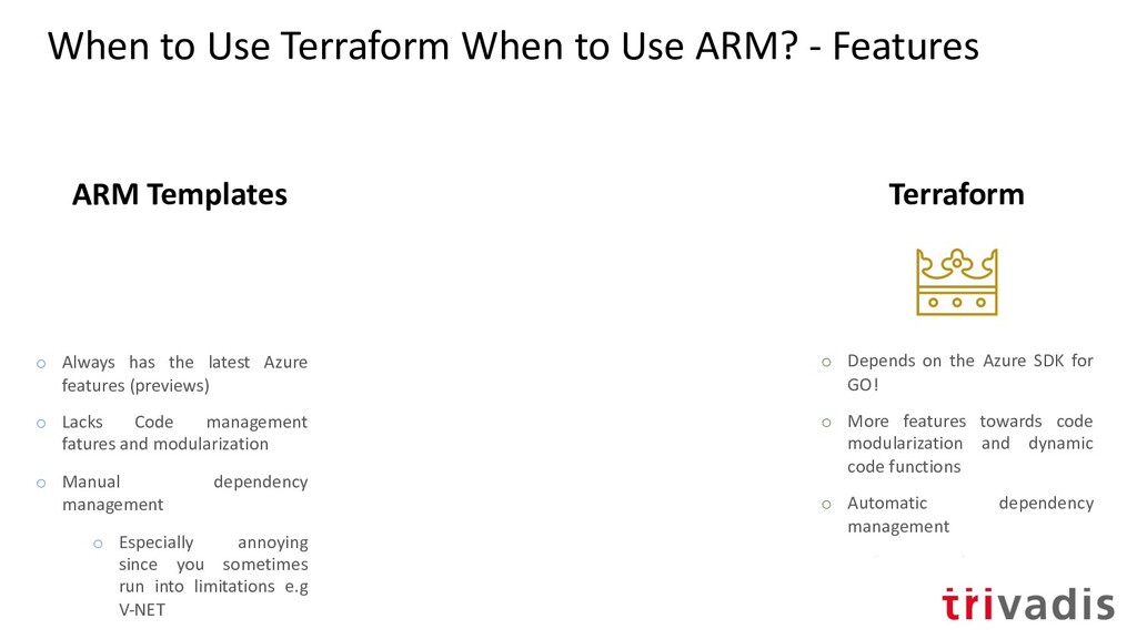 When to Use Terraform When to Use ARM? - Featur...