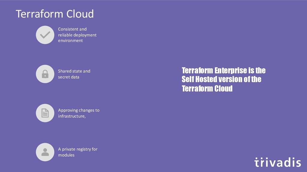 Terraform Cloud Consistent and reliable deploym...