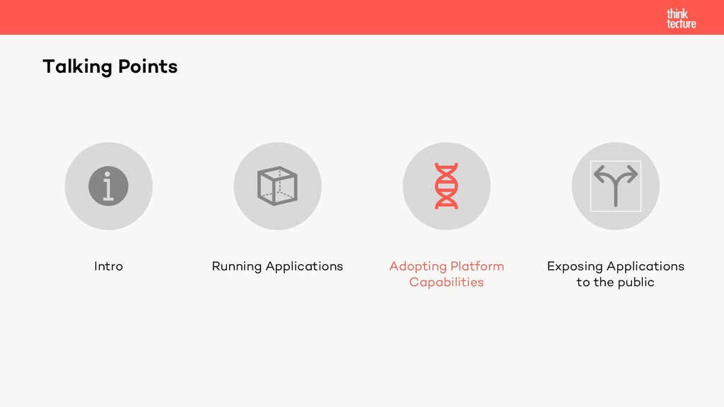 Talking Points Intro Running Applications Adopt...