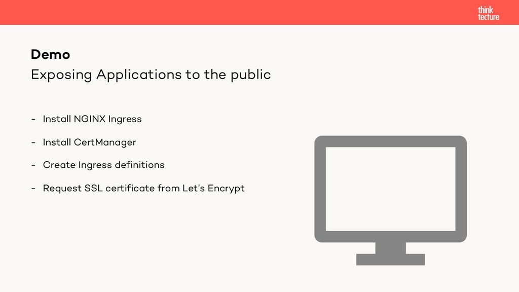 Exposing Applications to the public - Install N...