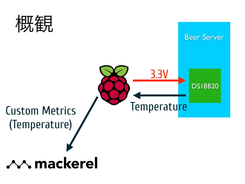 ֓؍ Beer Server DS18B20 3.3V Temperature Custom ...