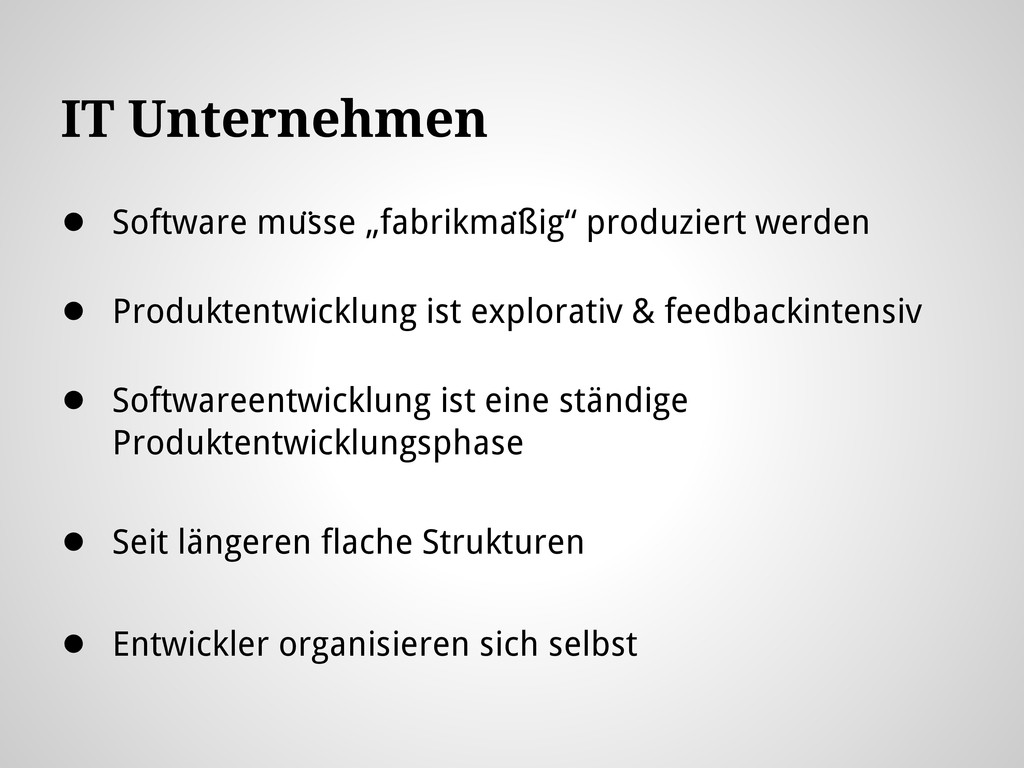 "IT Unternehmen ● Software müsse ""fabrikmäßig""..."