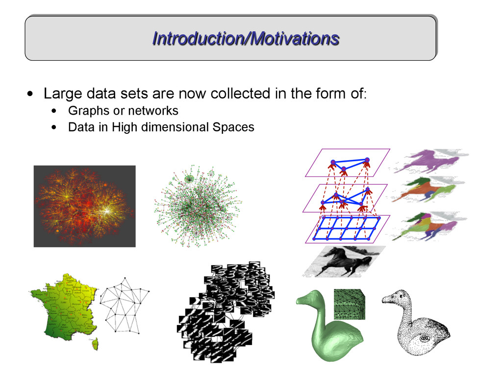Introduction/Motivations • Large data sets are...