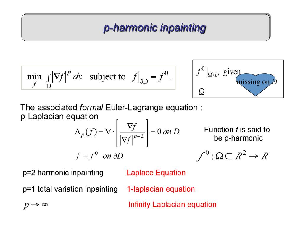 The associated formal Euler-Lagrange equation :...