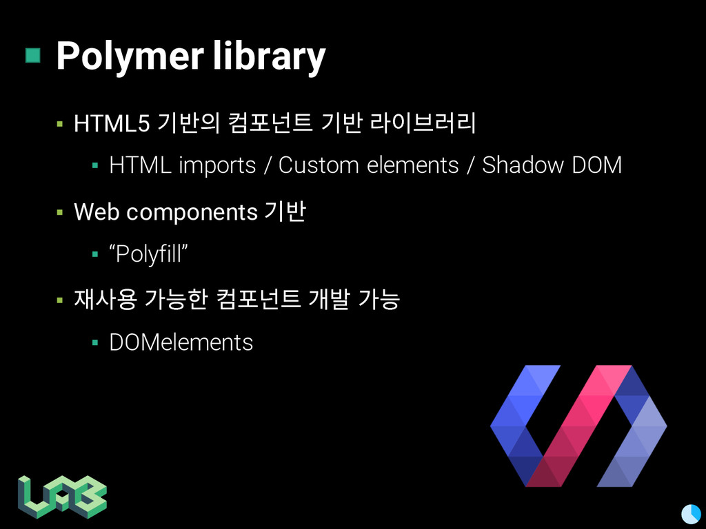 Polymer library ▪ HTML5 믾짦픦 뻚 믾짦 않핂쯚얺읺 ▪ HTML...