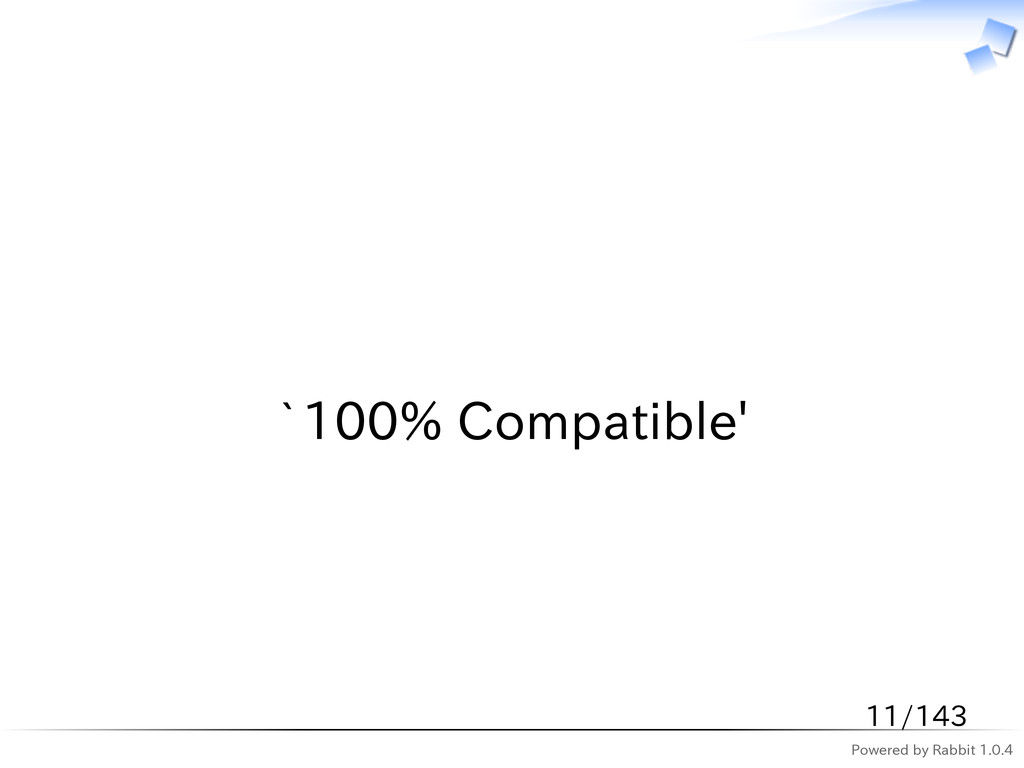 Powered by Rabbit 1.0.4   `100% Compatible' 11/...