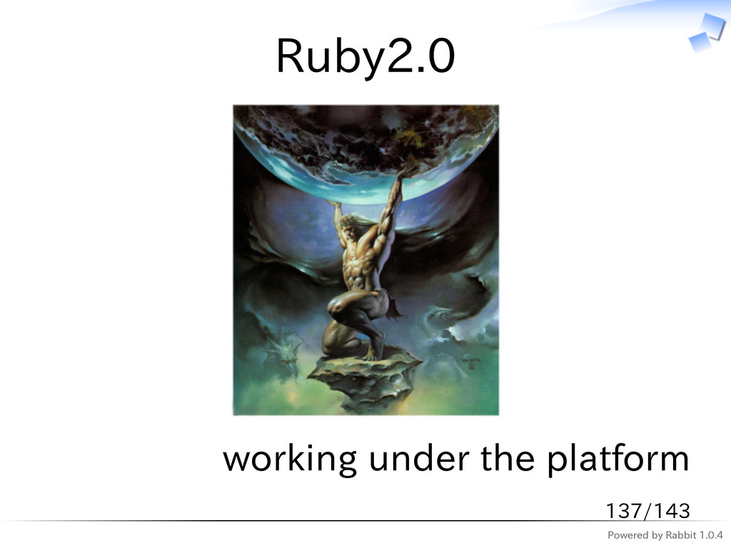 Powered by Rabbit 1.0.4 Ruby2.0 working under t...