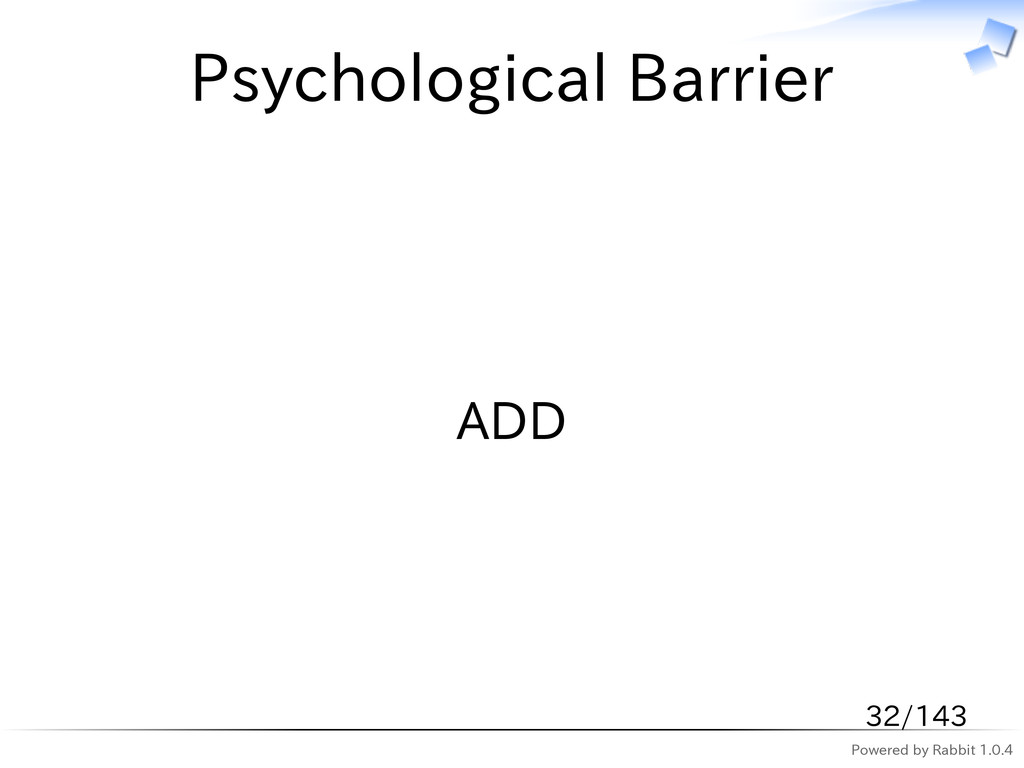 Powered by Rabbit 1.0.4 Psychological Barrier A...