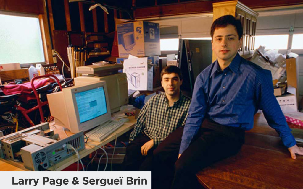 Larry Page & Sergueï Brin