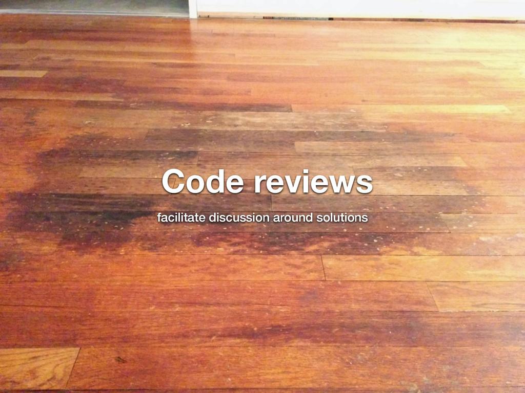 @nickdenardis #psuweb Code reviews facilitate d...