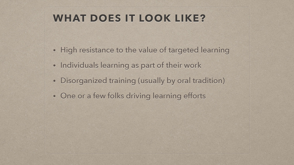 WHAT DOES IT LOOK LIKE? • High resistance to th...