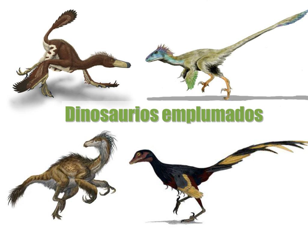 Dinosaurios emplumados