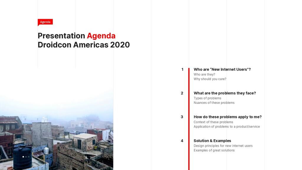 Presentation Agenda Droidcon Americas 2020 Agen...