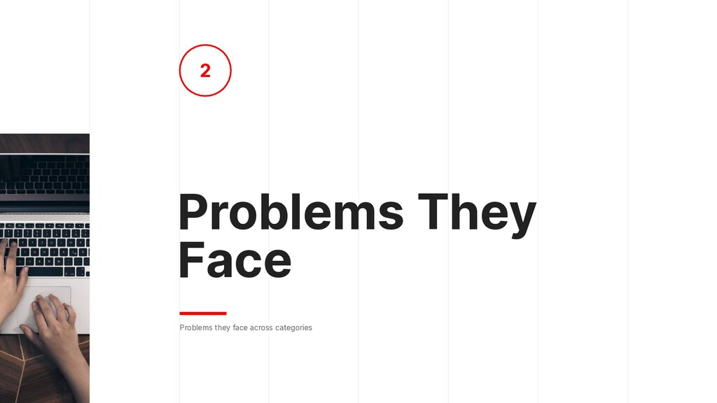Problems They Face Problems they face across ca...