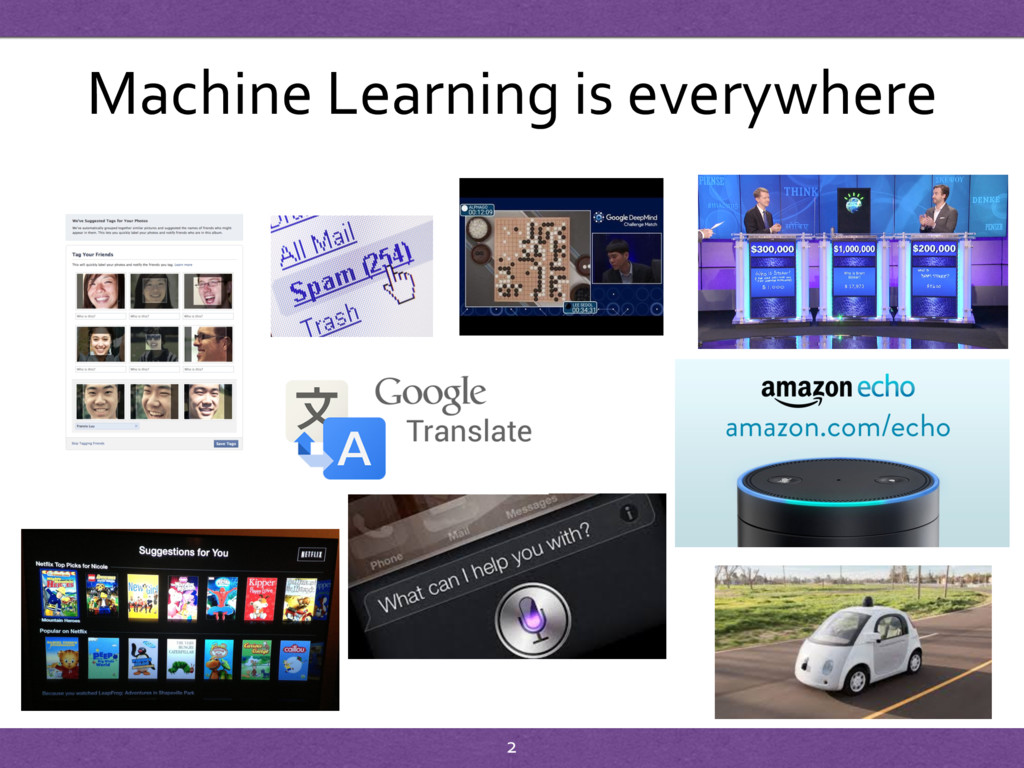 Machine Learning is everywhere 2