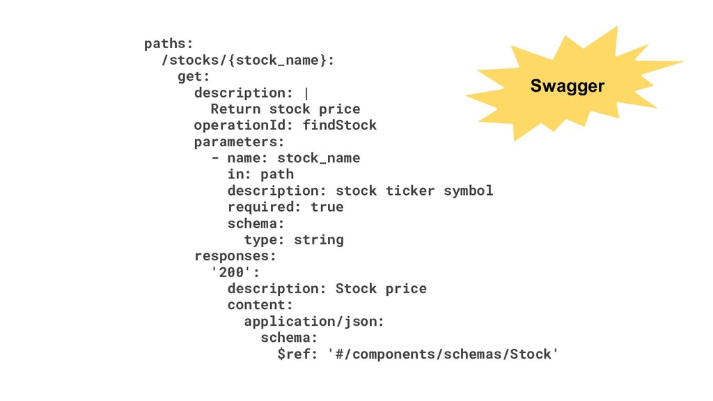 paths: /stocks/{stock_name}: get: description: ...