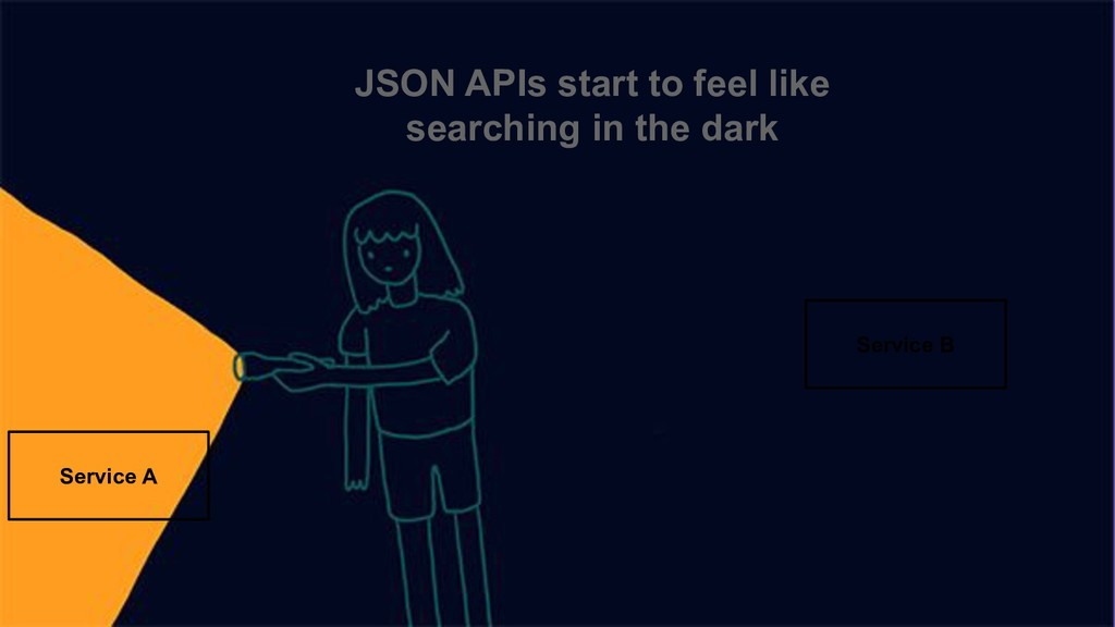 JSON APIs start to feel like searching in the d...