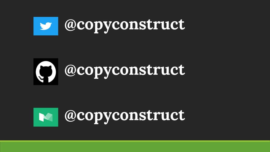 @copyconstruct @copyconstruct @copyconstruct