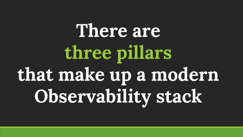 There are three pillars that make up a modern O...